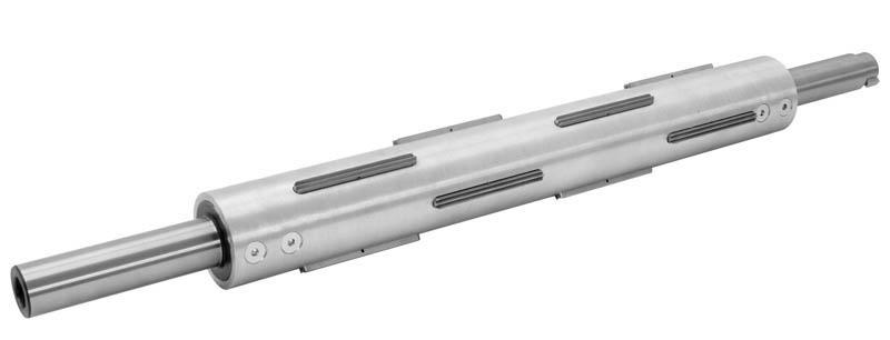 Wickelwelle 70mm 76mm Hülsen