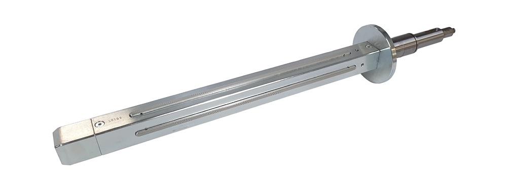 Wickelwelle 40x40 mm vier Spannelemente